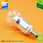 mini led bulbs 3w, ice cream shape