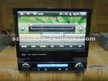 2012 Newest single din 7 inch in dash car DVD GPS with bluetooth, ipod, radio,digital TV, etc