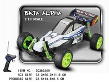 1:18 scale off-road Baja Alpha car toys