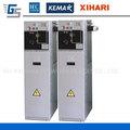 Panel de apartados con soportes, medio voltaje insolación SF6, dispositivo de distribución eléctrico, RMU