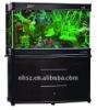 aquarium fish glass wooden tank