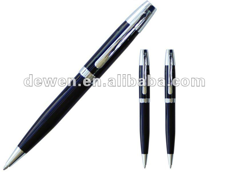 Hot selling---Classic metal ball pen with Parker refill Germany ink