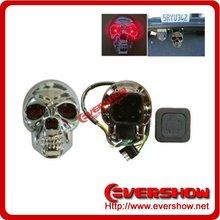 LED Skull Hitch Cover light for trailer Receiver Shackle Bracke