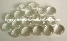 Crystal Flat Glass Beads For Interior Bathroom