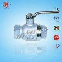 cf8m manual ball valve