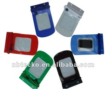 Hot selling waterproof PVC bag with clip for iphone,samsung,nokia mobile