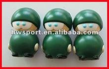 pu novelty toy ball,popular anti stress ball.pu Soldier stress ball