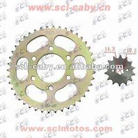 BAJAJ BOXER CT100 BAJAJ BOXER BM100 accessories motocycle chain set