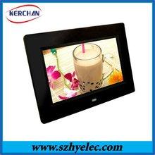 10.1 inch unique plastic photo frame 2012
