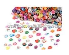 NAIL ART, 3D Mix Nail Art Nail Tips Polymer/Clay/Slices Decoration, nail art decoration