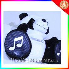 2012 new mini speaker music panda box cute