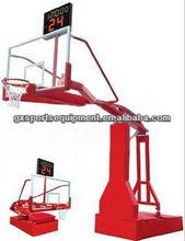 110V Electric hydraulic basketball stand-FIBA