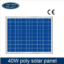 price per watt 12v poly solar panels 40 watt