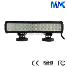 14.5 inch 90w pure white 6250LM led spotlight bar
