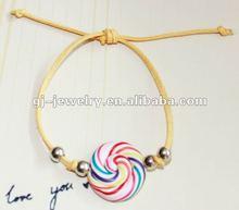 2012 new fashion swirl candy bracelet