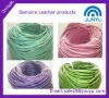 Real Cow Leather Cord / Fashion Colors 3MM Diameter