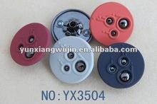 fashion metal button snape button colorful buttons bulk