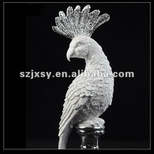 Modern Home Accessory Resin Bird Ornaments Crafts
