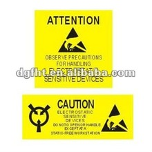 printed security label/printed security sticker/printed security decal