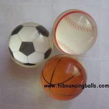 27MM Basketball Bouncy Balls Wholesale