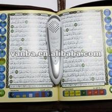 2012 hotsale 4gb memory va8900 talking koran read pen with travel dictionary,bukhari,sahih muslim and multifunctional card