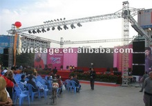 outdoor activity 12x12m truss moving head