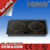 Hot 2 burner cast iron stove plate of kitchen appliance(CB,SASO approval)