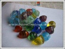 Irregular Color Glass Beads For Fish Ponds