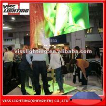 indoor LED floor screens P10 mm easy installation