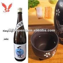 Eine beliebte marke oem in japanischen sake.