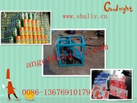 cans cutting and flattening machine 0086-13676910179