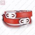 горячие продажа кожаный браслет ювелирных изделий продаж через интернет