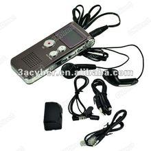 8G 650HR USB Digital Voice Recorder With MP3 FM