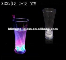 led flashing pilsen glass - 14OZ