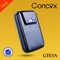 Concox gps trailer device gps tracker walkie talkie with gsm GT03A