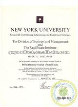 Diploma Certificate/University Certificate Paper/Custom Embosser Seal