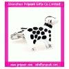 Cricket ball cufflink
