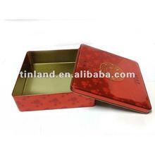 eco-friendly food packing tin box, free samples