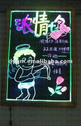 Professional Portable Led Drawing Erasable Digital Sign Board