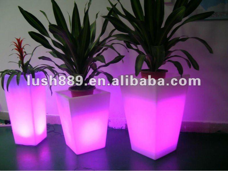 mini jardim vertical : mini jardim vertical:Mini plantador do jardim vertical/pequena luz iluminar vaso de flores