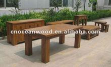 Barcelona Range Solid Oak Wooden Dinner Set for 2012 Promotion