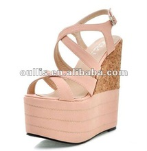ladies fashion sandals pumps heels shoes new sandals for 2012 WZX178-24