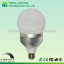 High Power Dimmable 10w led e 27/e 26 bulb SAA, C-tick, CE, RoHS, FCC