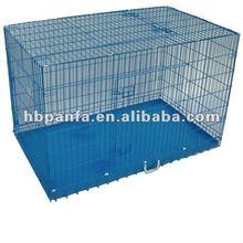 Triple Door Pet Crate/epoxy powder-coated finish