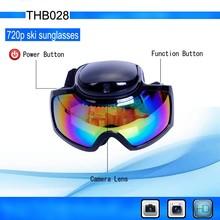 HD 720P Waterproof Sunglasses Camera Ski Waterproof GoggleS Camera Hidden Camera THB028