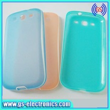 Thinnest soft flexible TPU phone case for Samsung Galaxy S3 i9300