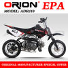 China APOLLO ORION EPA Summer Hot Sale 110cc mini Kids bike 110cc Dirt Bike