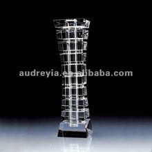 Decorative crystal flower vases