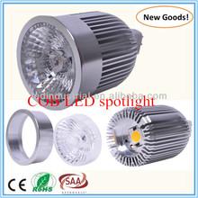 CE RoHS SAA COB 3w MR16 LED Spotlight Dimmable