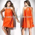خط العنق الرسن فستان كوكتيل المبتدئين od-434 50 دولار تحت